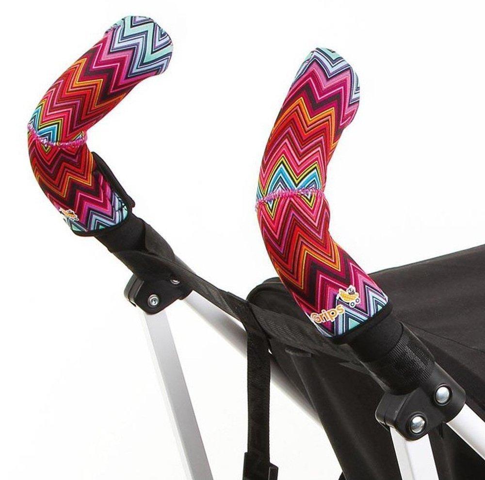 CityGrips Чехлы на ручки для коляски-трости ZigZag Color - купить по приемлемым ценам в Москве в интернет магазине Олант
