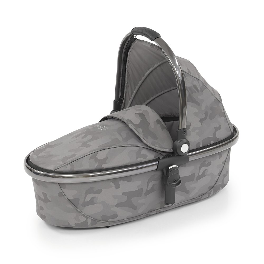 Egg Люлька Carrycot Camo Grey & Anodised Frame