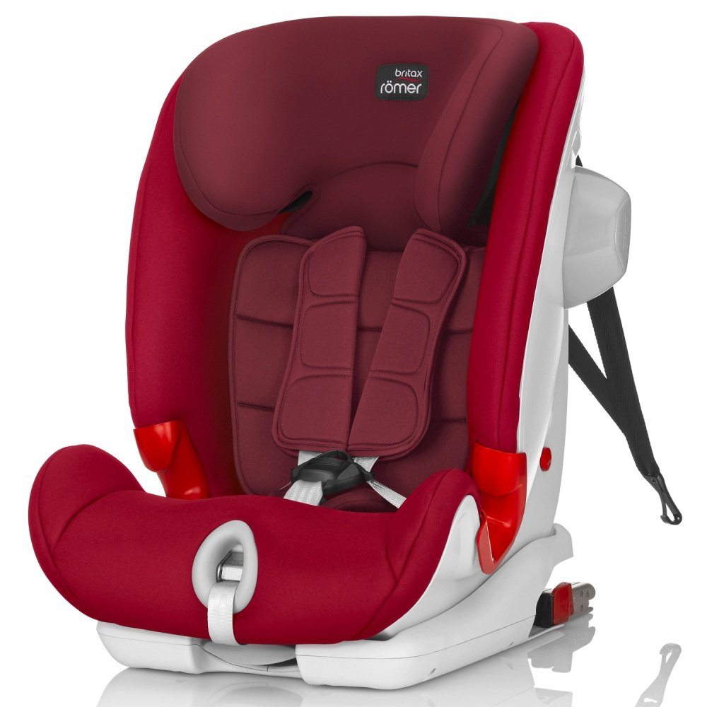 BRITAX ROEMER автокресло ADVANSAFIX III SICT Flame Red (группа 1-2-3, от 9 до 36 кг)