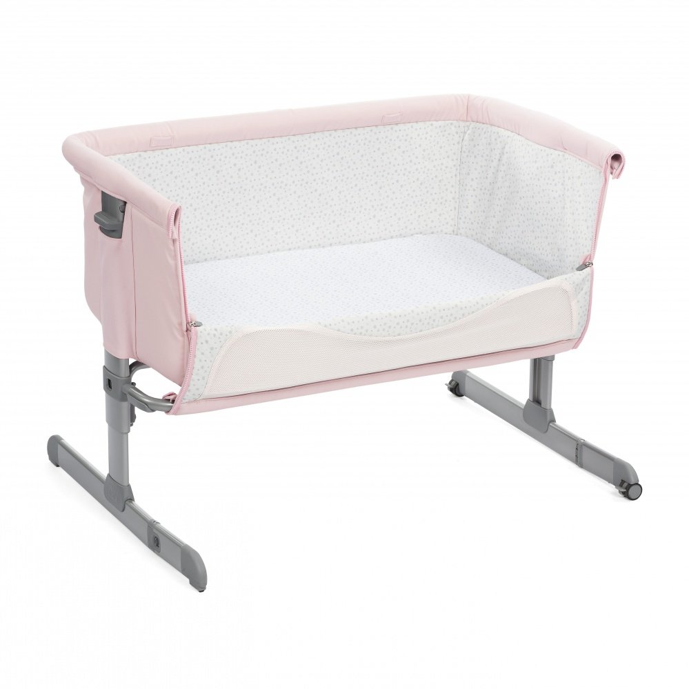 Chicco Next2me кроватка French Rose