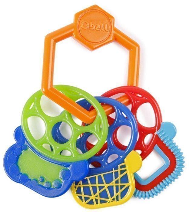 Прорезыватели, ниблеры O-BALL прорезыватели oball прорезыватель разноцветные ключики