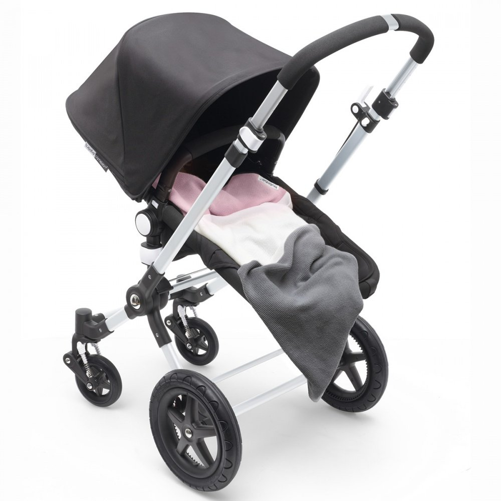 Bugaboo Плед хлопковый цв. SOFT PINK MULTI