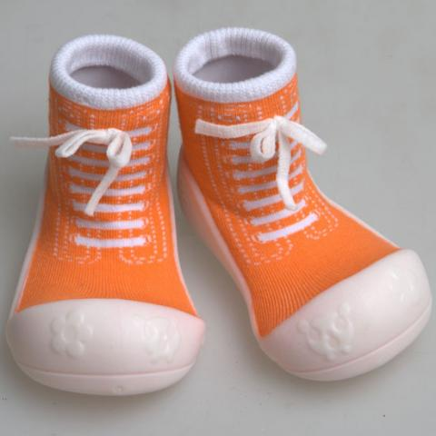ATTIPAS обувь Sneakers оранжевый, р. S (3-6мес.)
