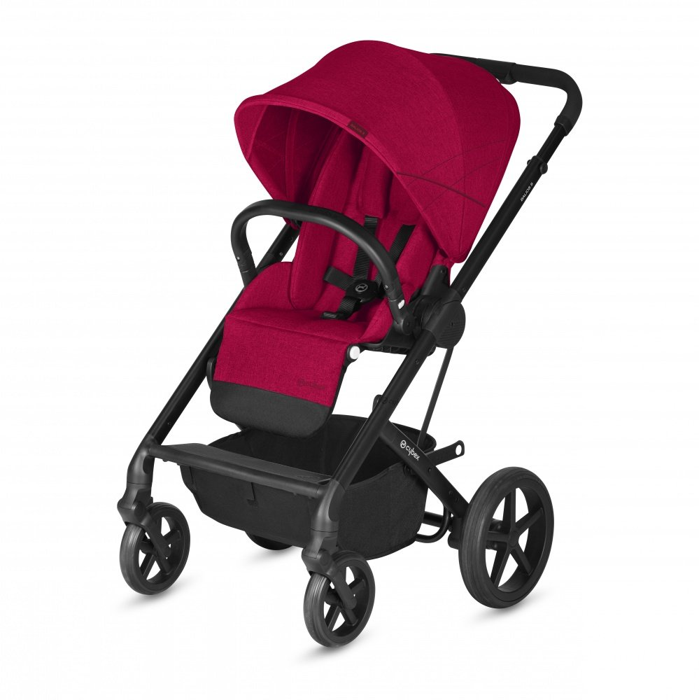 Cybex Коляска прогулочная Balios S Rebel Red