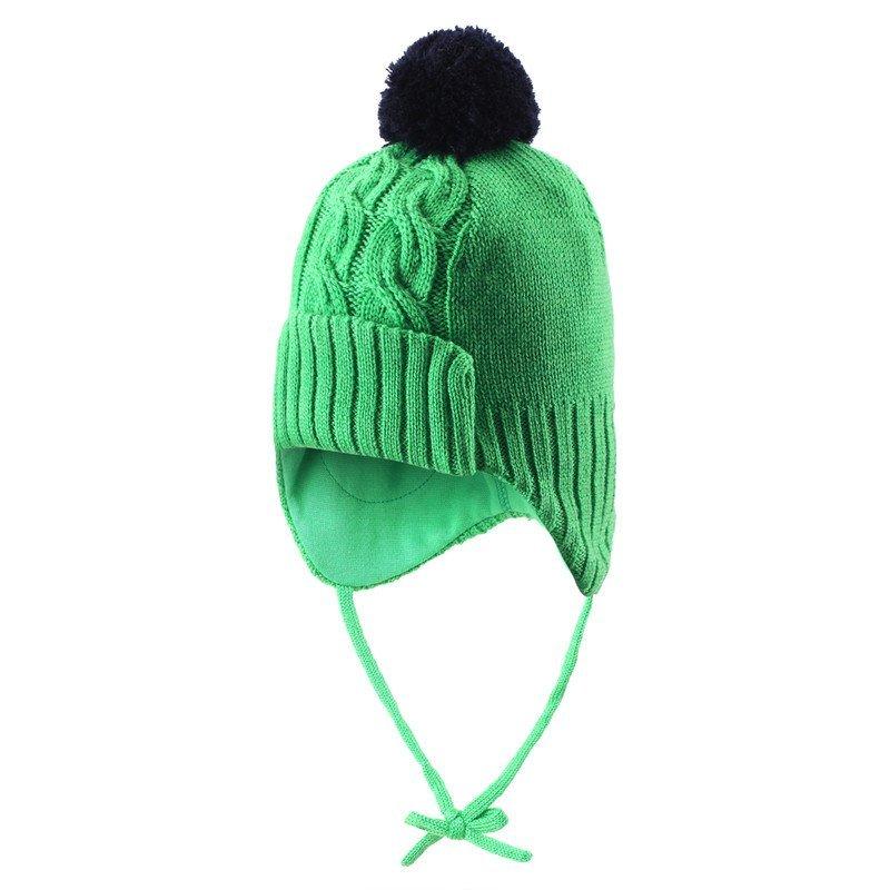 Купить Шапки, варежки, перчатки, REIMA шапка шерстяная Blixt зеленая р.46