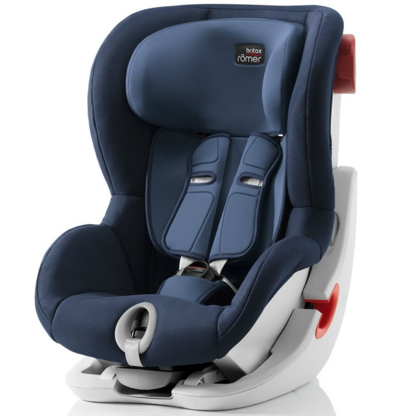 Britax Roemer автокресло KING II Moonlight Blue (группа 1, от 9 до 18 кг)