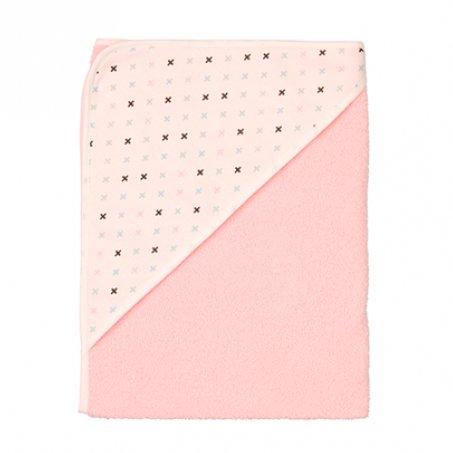 LUMA простынка с уголком 85*75 розовый нежный