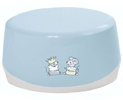 Купить Горшки, сидения на унитаз, BEBE JOU подставка для умывания голубая Мышки