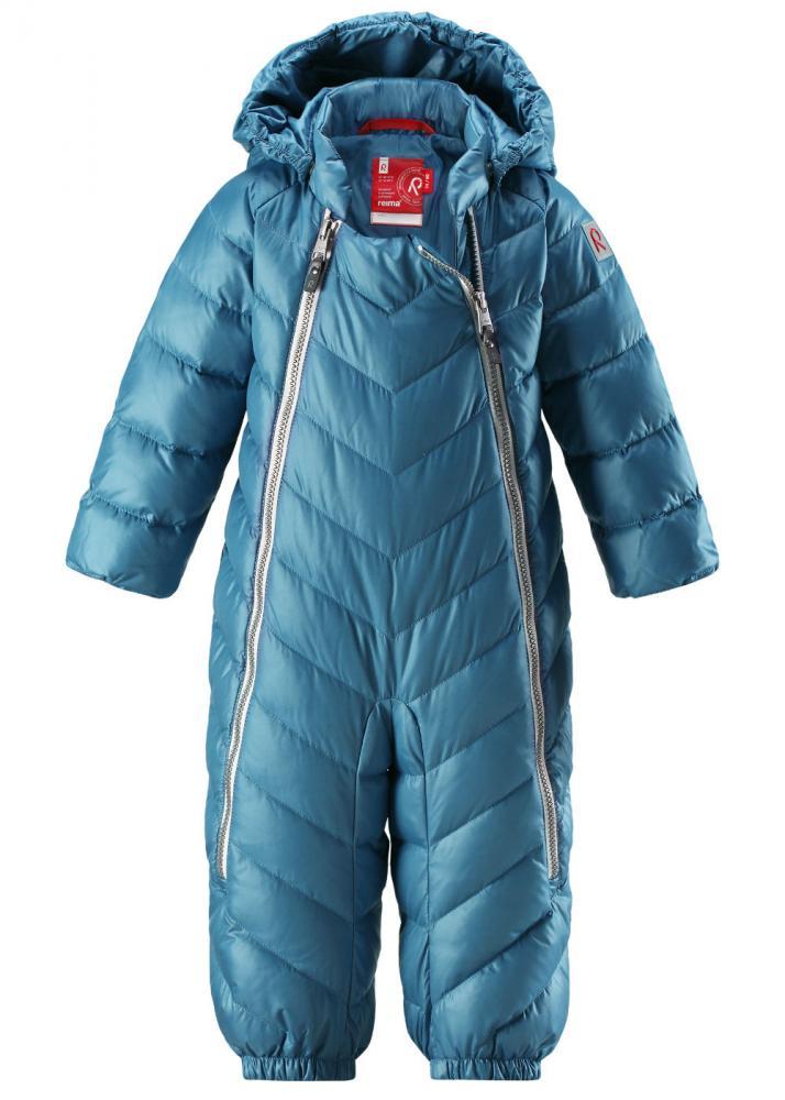 Купить Верхняя одежда для зимы, REIMA комбинезон пуховый UNETUS голубой р.62/68