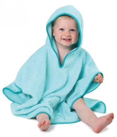 CUDDLEDRY накидка  с капюшоном для малышей ДЕЛЬФИН с защитой от ультрафиолетовых лучей  SPF50 от olant-shop.ru