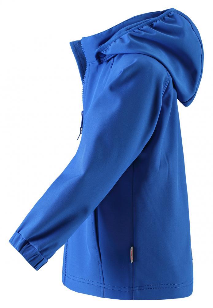 Купить Одежда для весны и осени, REIMA Куртка Softshell VANTTI голубая р.104