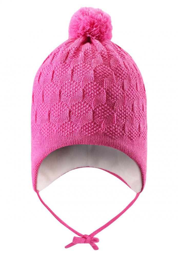 LASSIE шапка розовая р.XXS (42-44см)