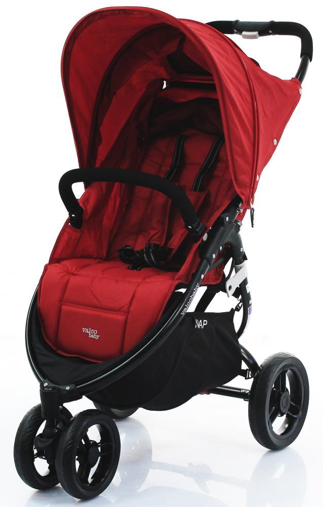 Купить Прогулочные коляски, VALCO BABY Коляска прогулочная SNAP/ Carmine red черное шасси