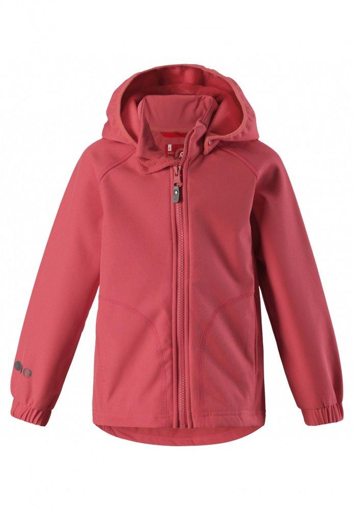 Купить Одежда для весны и осени, REIMA Куртка Softshell VANTTI коралловая р.104