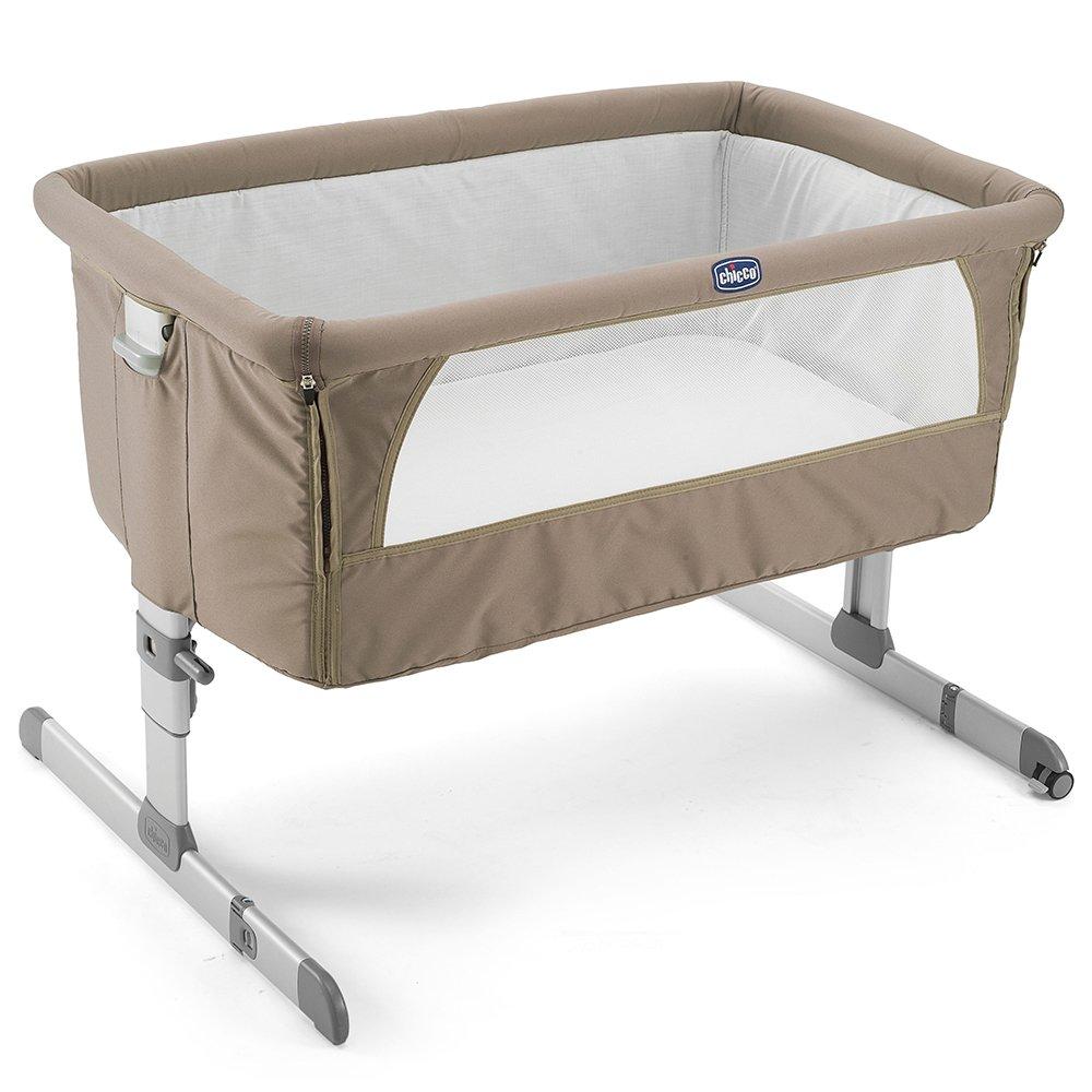 Купить со скидкой CHICCO Кроватка детская NEXT2ME DOVE GREY
