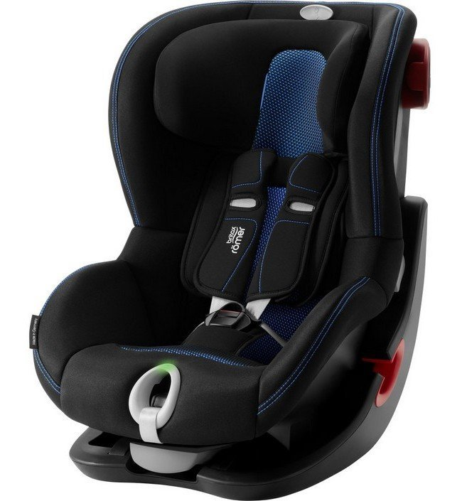 Britax Roemer Автокресло King II LS Black Series Cool Flow - Blue Special Highline (гр. 1)