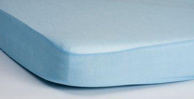 HIPPYCHICK простынь непромокаемая натяжная Tencel  70х140 см  (голубая)