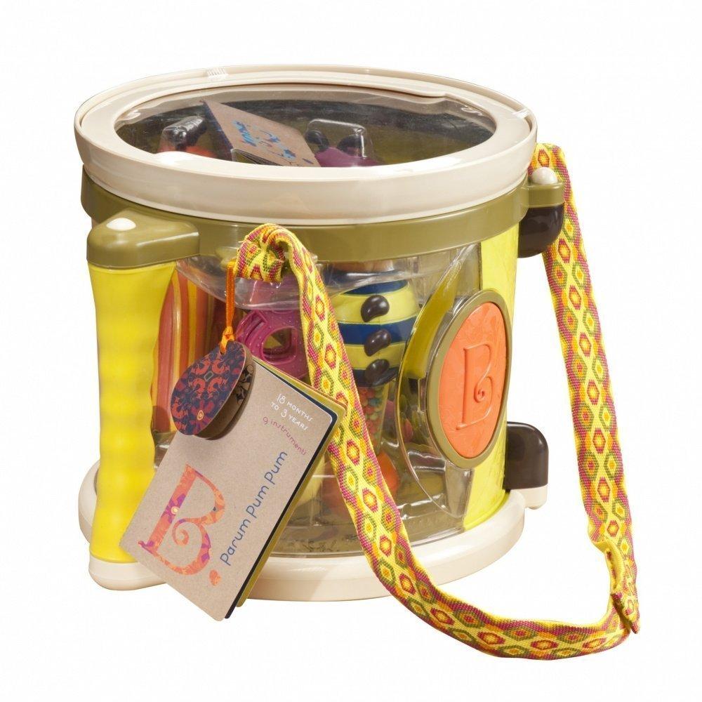 Музыкальные инструменты BATTAT набор для песочницы battat ready beach bag с машинкой 11 предметов