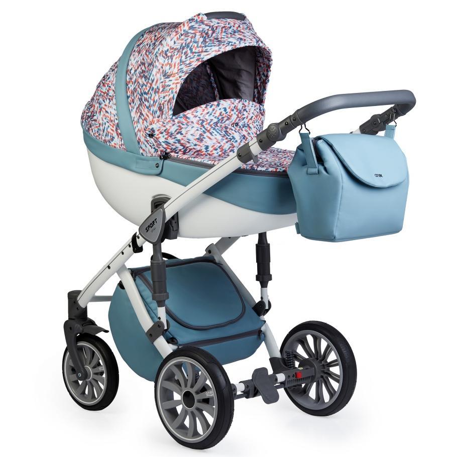 Купить Коляски для новорожденных, ANEX SPORT Коляска 2 в 1 Q1 (Ab06) wave