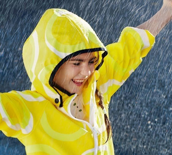 REIMA куртка для дождливой погоды Kupla желтая р.116 от olant-shop.ru