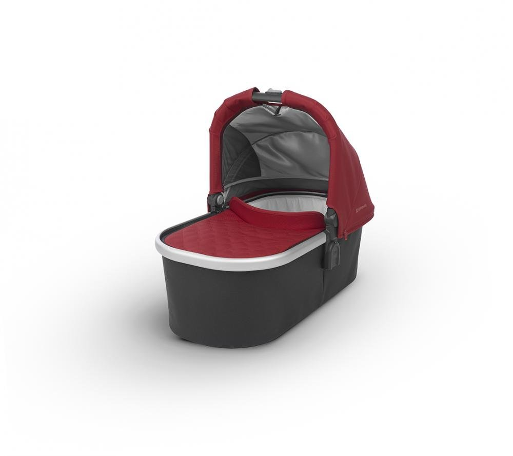Купить Коляски для новорожденных, UPPABABY Люлька для коляски Cruz и Vista 2018 Denny (True Red) красная