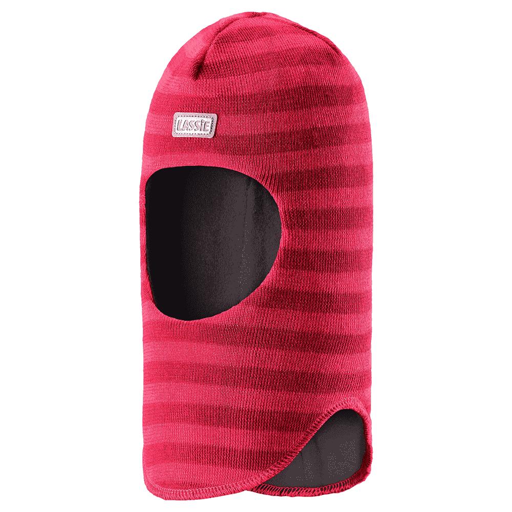 Купить Шапки, варежки, перчатки, LASSIE шлем розовый в полоску р.XS (44-46см)