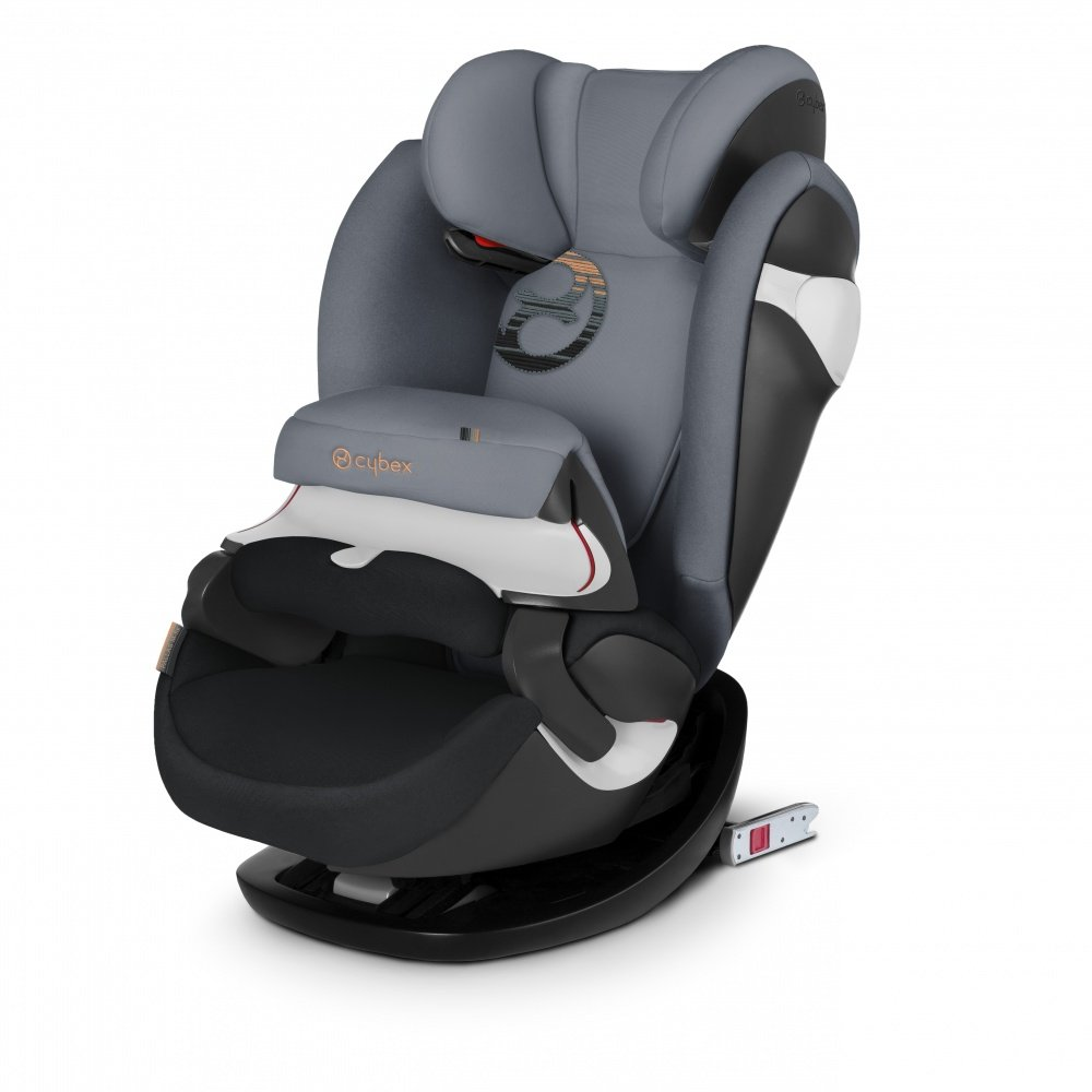 Cybex автокресло Pallas M-Fix Pepper Black (гр.1/2/3)