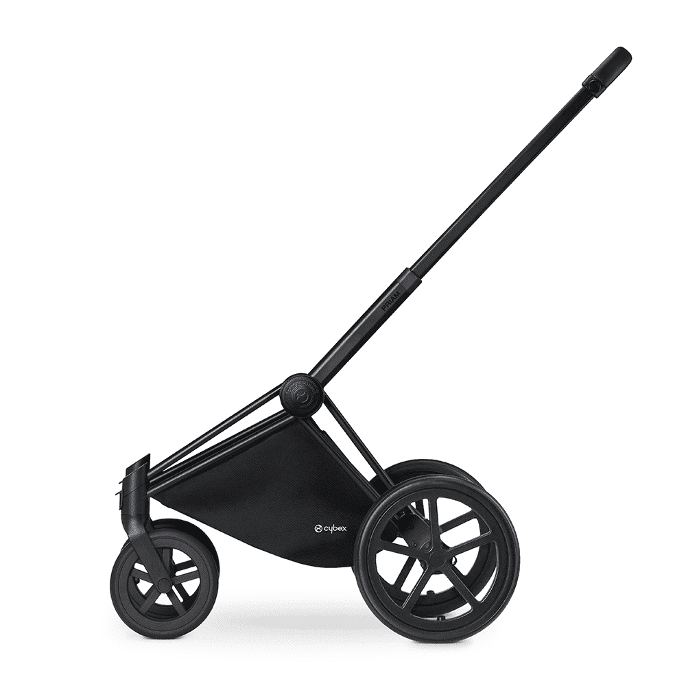 CYBEX Рама для коляски Priam Matt Black с колесами Trekking