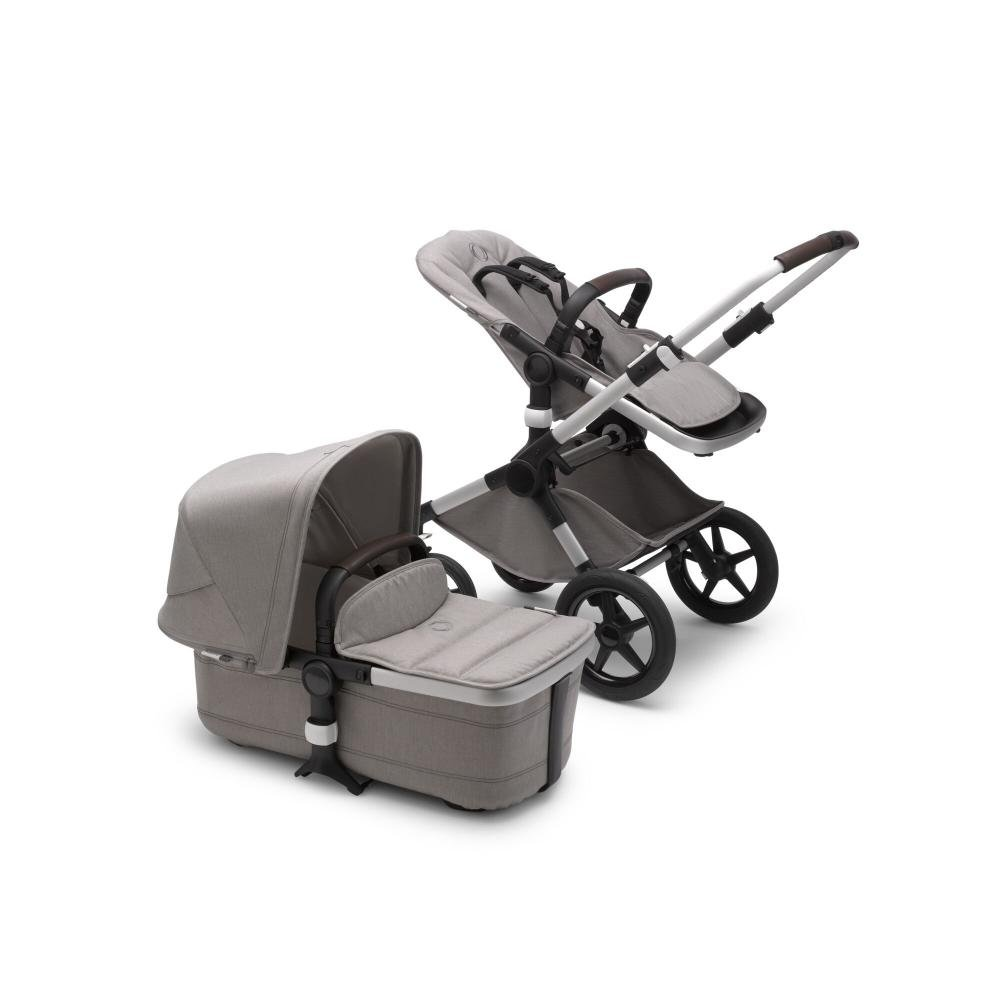 Bugaboo Fox2 коляска 2 в 1 Mineral Alu/Light Grey complete