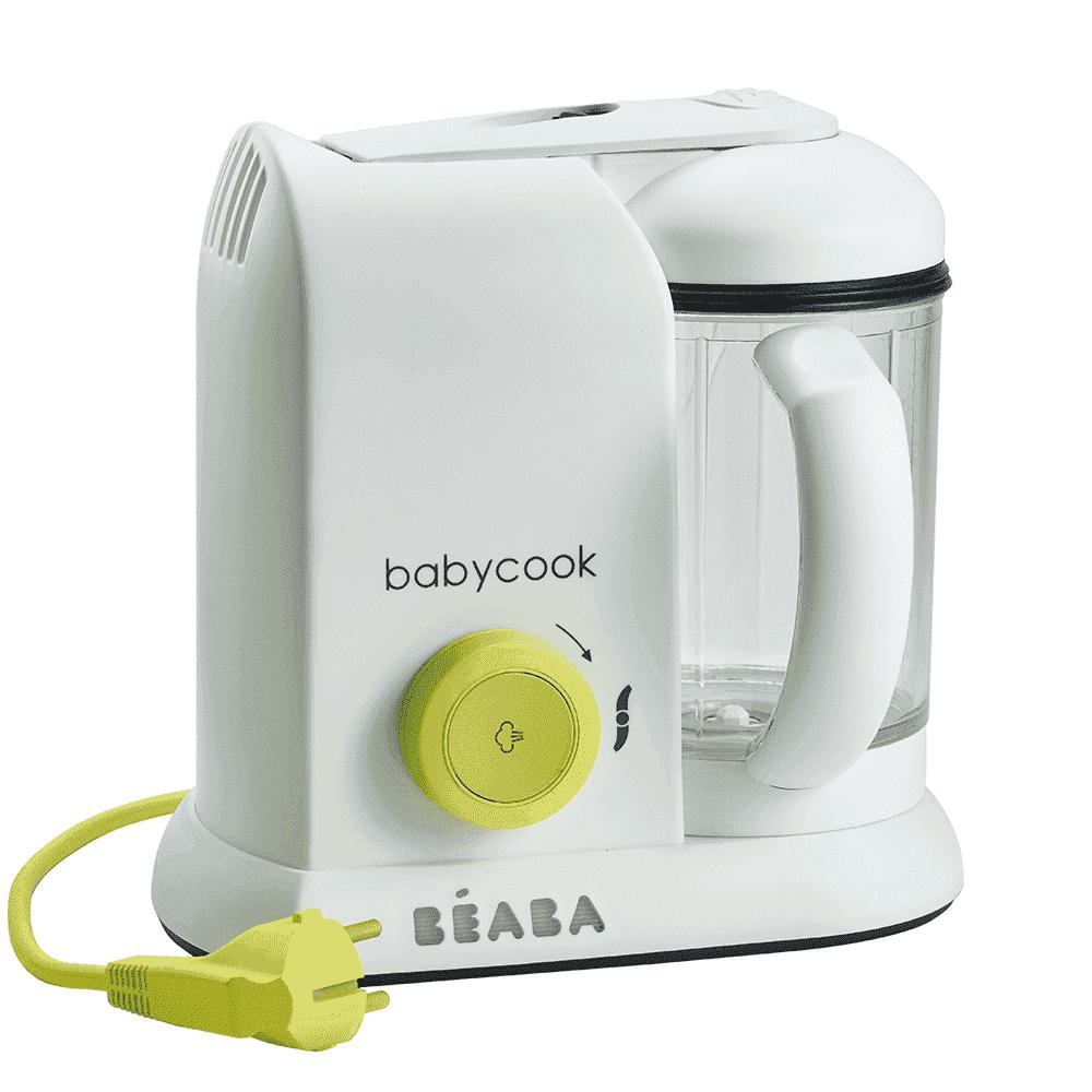 BEABA блендер-пароварка BABYCOOK NEON EU