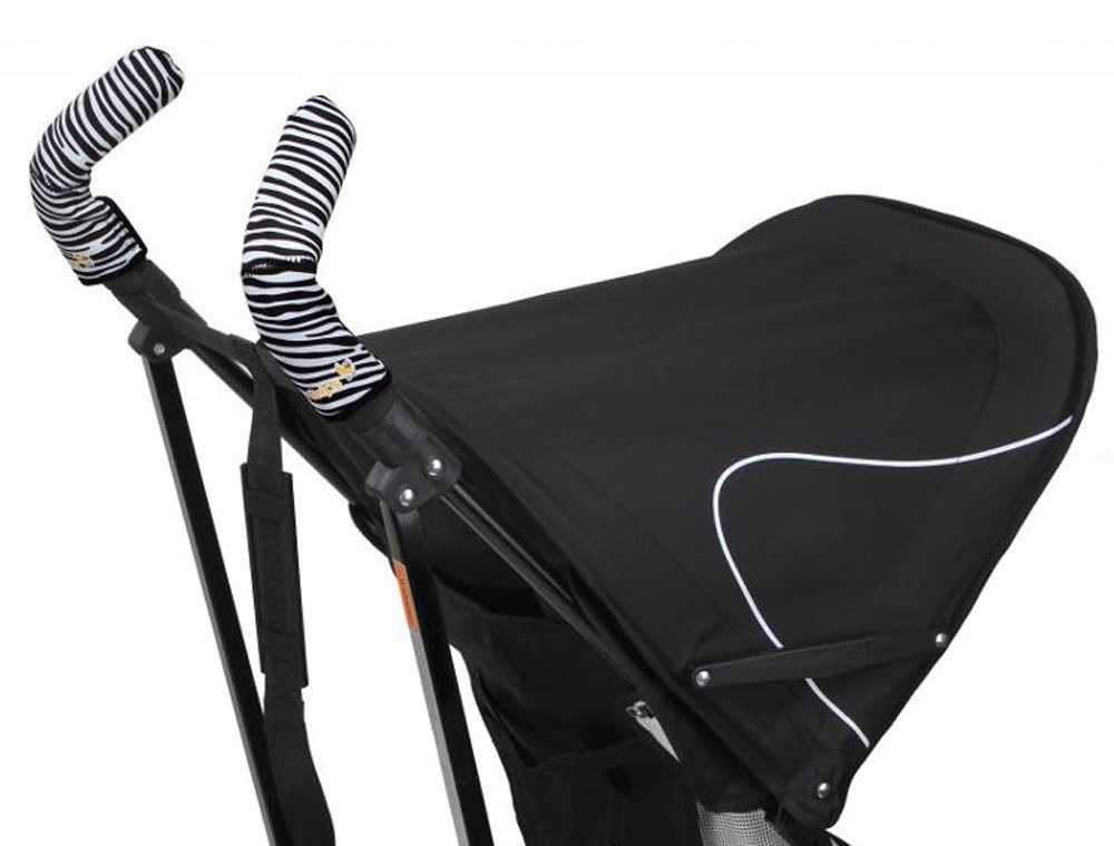 CityGrips Чехлы на ручки для коляски-трости Zebra CITYGRIPS_чехол трость