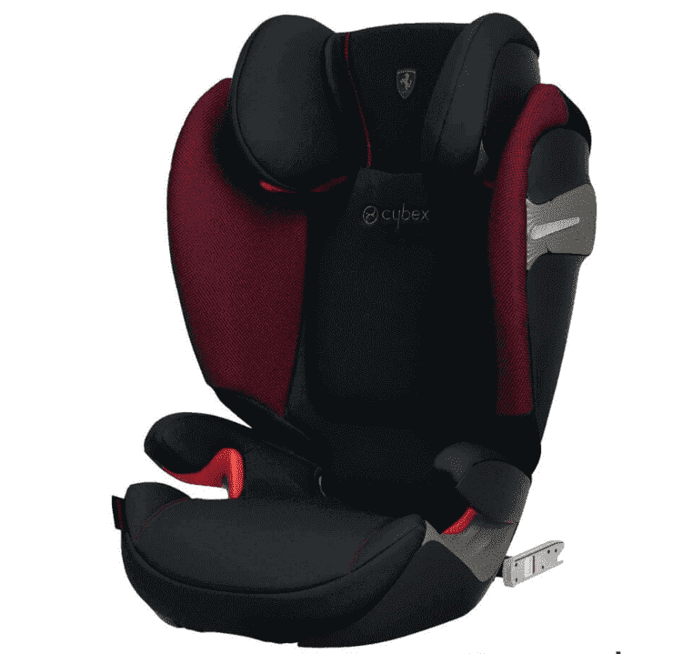 Cybex Автокресло Solution S-Fix Ferrari Victory Black