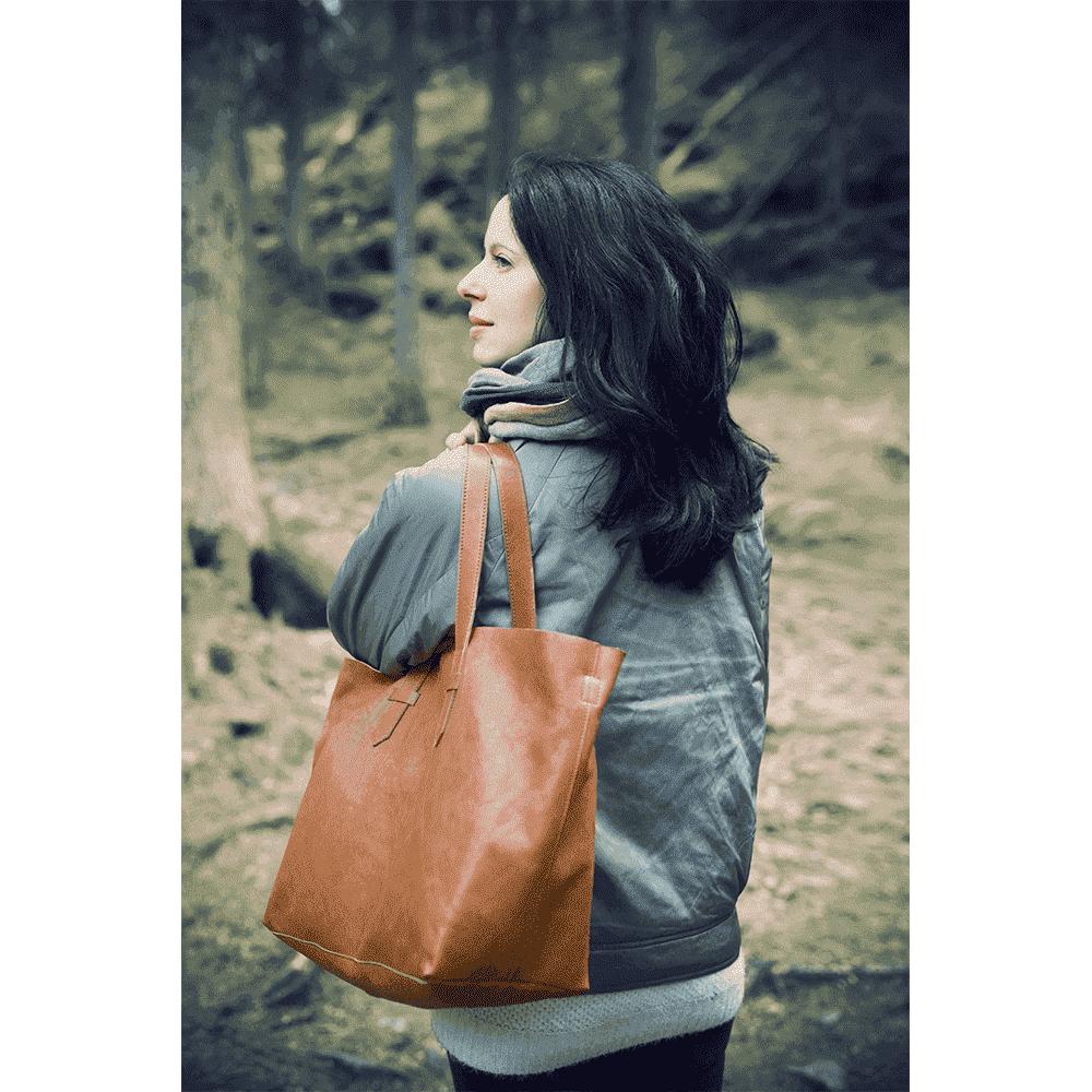 ELODIE DETAILS сумка Chestnut Leather от olant-shop.ru