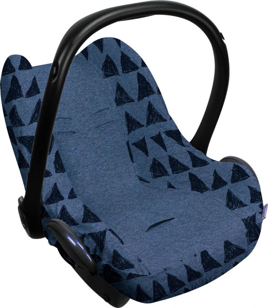 XPLORYS Чехол в автокресло DOOKY Seat cover 0+ цв. Blue Tribal