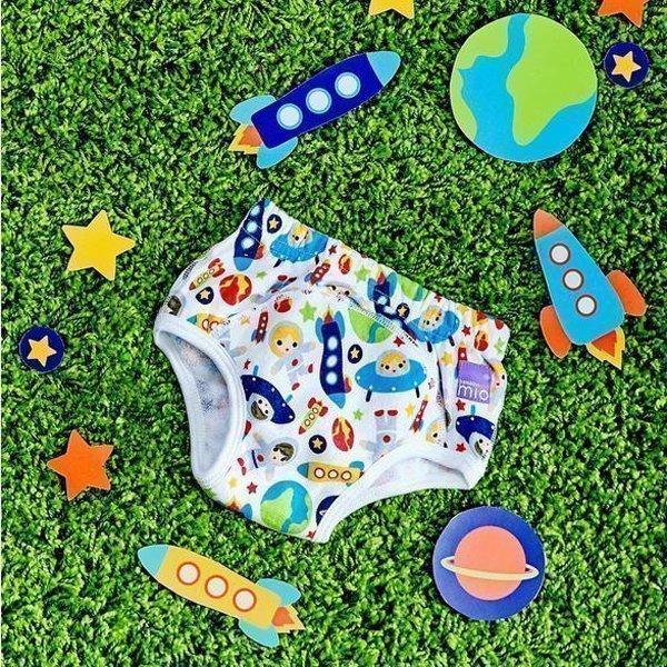 BAMBINO MIO трусики Приучаемся к горшку 2-3 года КОСМОС BAMBINO MIO комплект Хлопковые Трусики Приучаемся к Горшку (2-3 года)