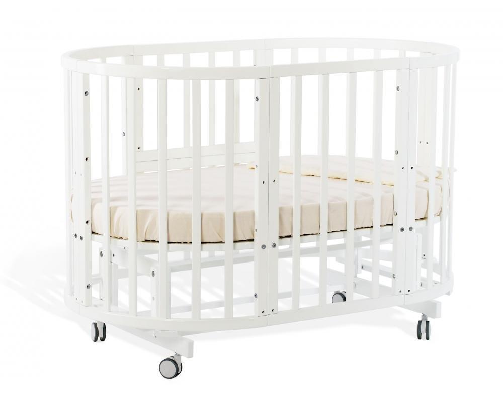 Купить Детские кроватки, NUOVITA Кровать-трансформер Nuovita NIDO MAGIA (белый)
