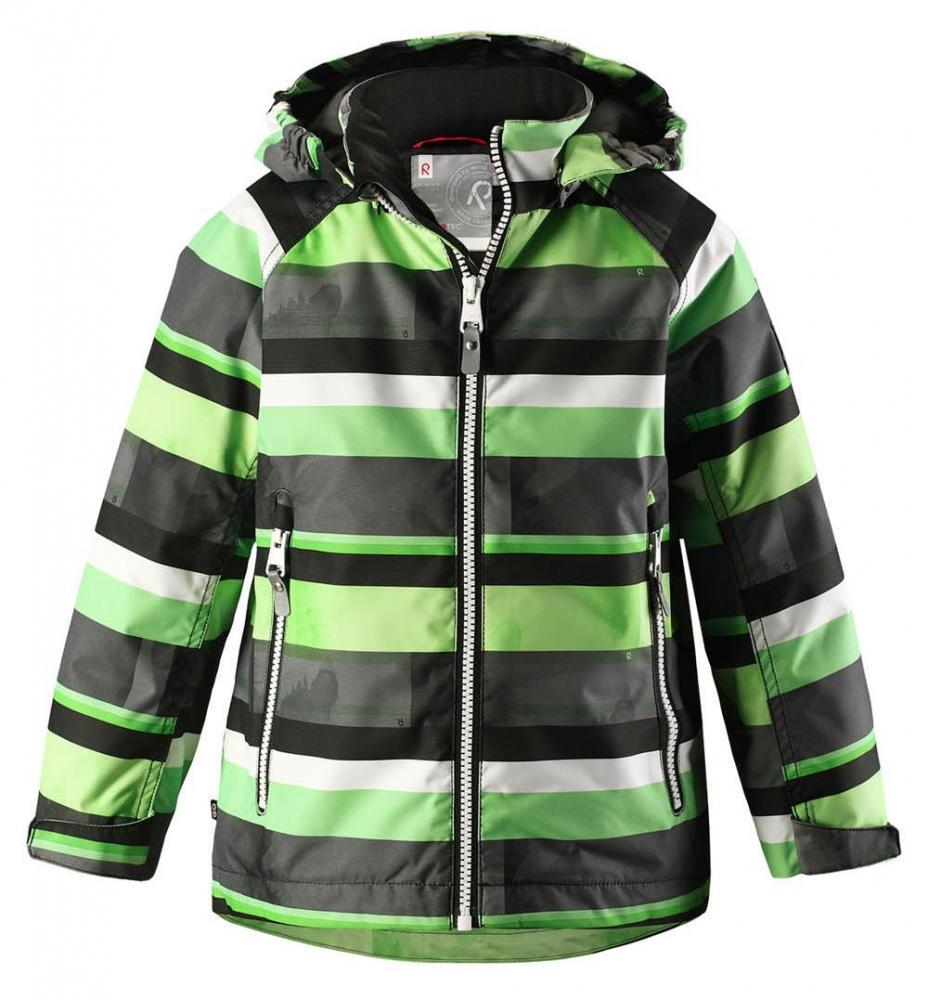 Купить Одежда для весны и осени, REIMA Куртка Reimatec SCHIFF серая с салатовым р.92