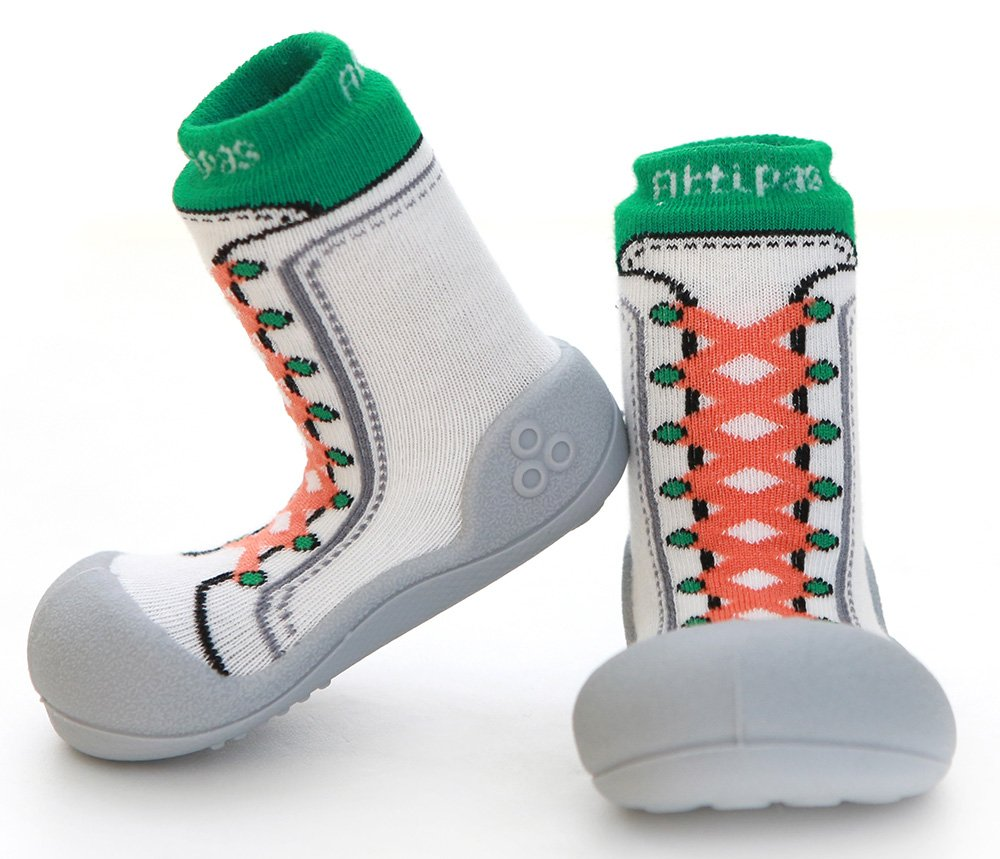 ATTIPAS обувь Sneakers зеленый, р. S (19)