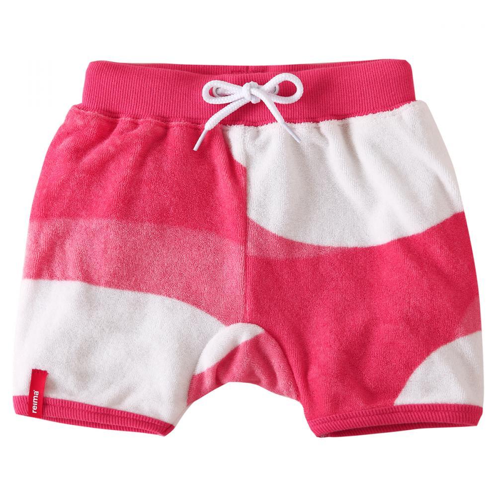 REIMA солнцезащитные шорты Marmara белые с розовым р.74