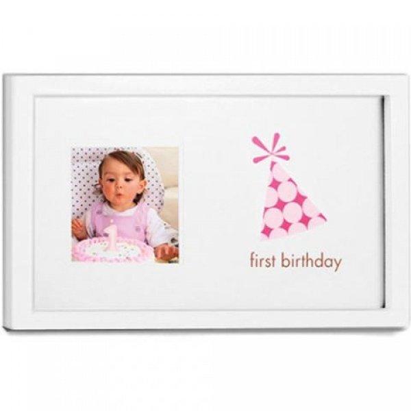 PEARHEAD рамочка Мой первый день рождения (Розовый)