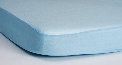 HIPPYCHICK простынь непромокаемая натяжная Tencel  60х120 см  (голубая)