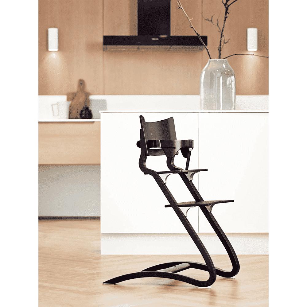 LEANDER перекладина для стульчика черная LEANDER Перекладина