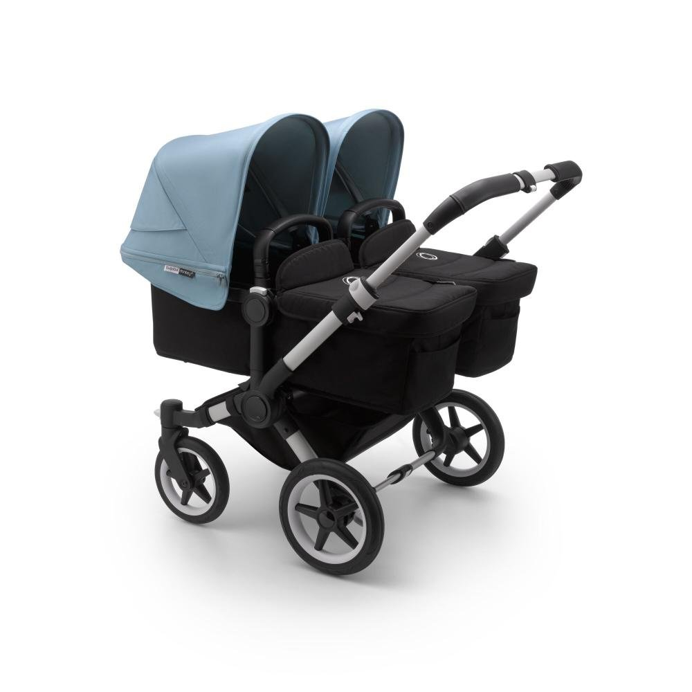 Bugaboo Donkey3 коляска 2 в 1 для двойни Twin Alu/Black/Vapor Blue