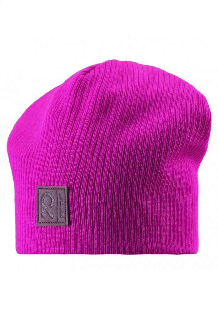 REIMA шапка шерстяная Orava розовая р.54/56 528481-4620-054