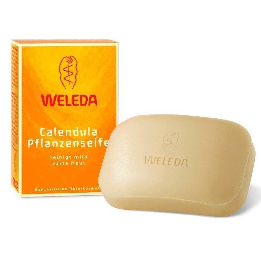 WELEDA мыло растительное, с календулой и лекарственными травами, 100 g