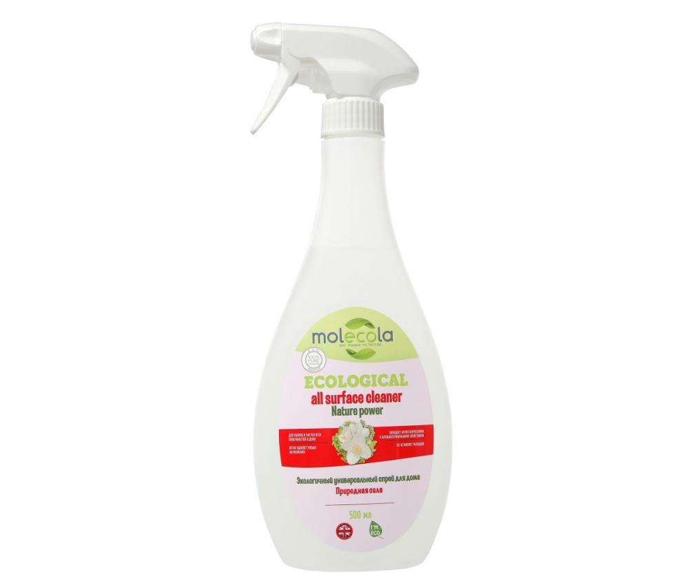 Купить Стирка, уборка, мытье посуды, MOLECOLA универсальный спрей для дома Nature Power, 0, 5 л