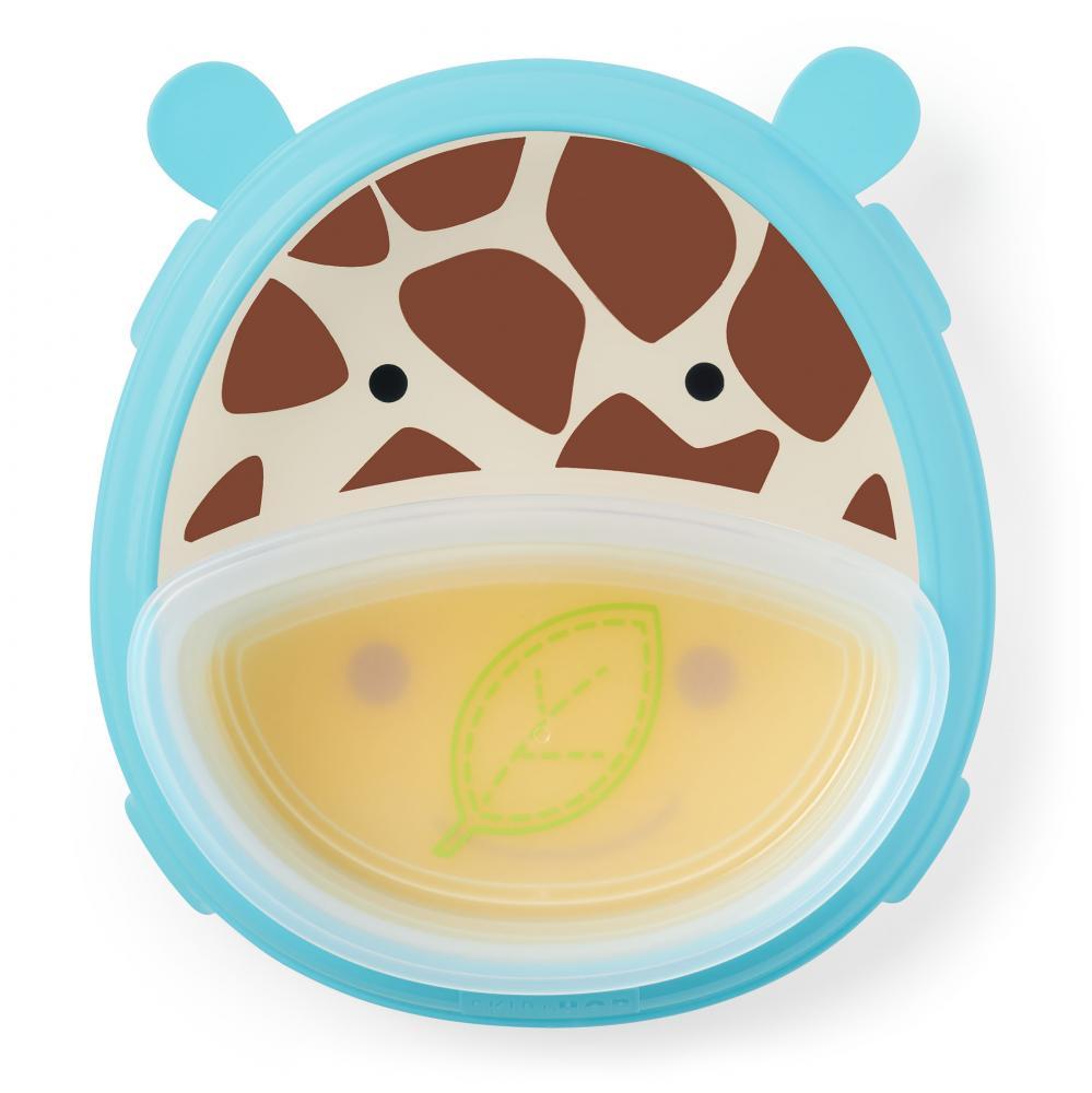 """Skip Hop Тарелка 2 в 1 """"Жираф"""": SH 252826***, 1 284 руб. - купить в Москве   Интернет-магазин Олант"""