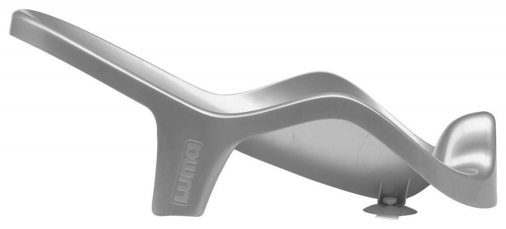 LUMA подставка для купания анатомическая серебристый