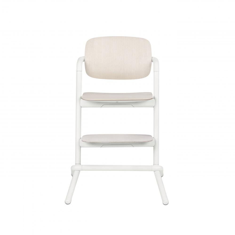 Cybex стульчик LEMO WOOD Porcelaine White