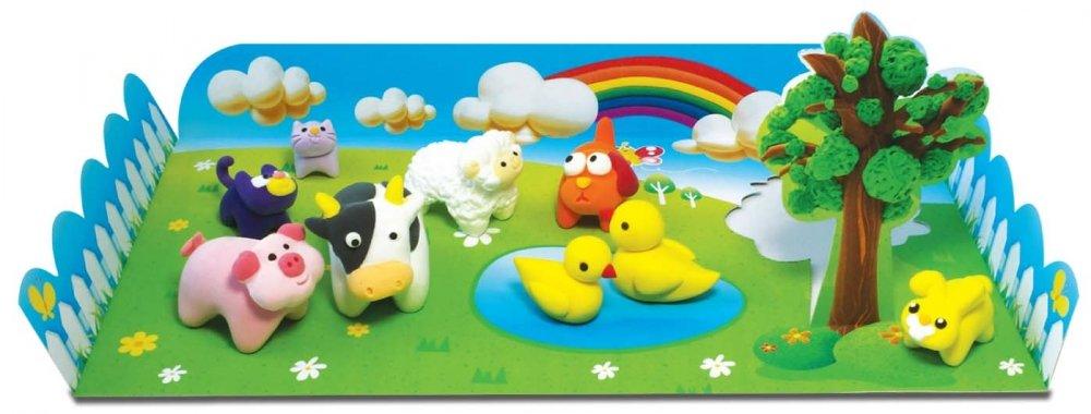 ANGEL CLAY Игровой набор для творчества Animal Farm